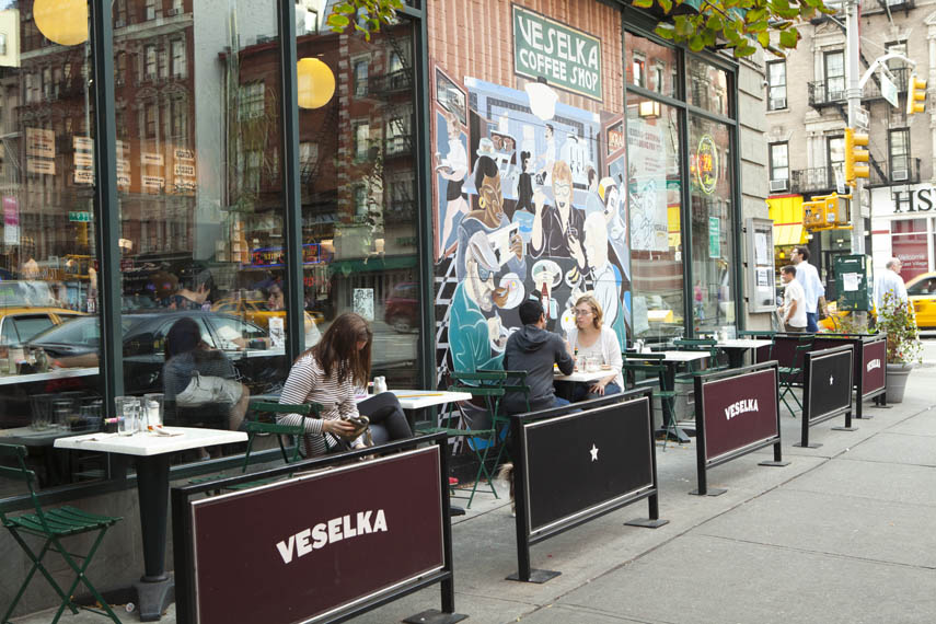 Veselka Manhattan Sideways