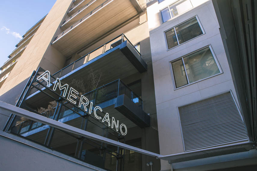 Hotel americano bar americano manhattan sideways for Hotel americano chelsea
