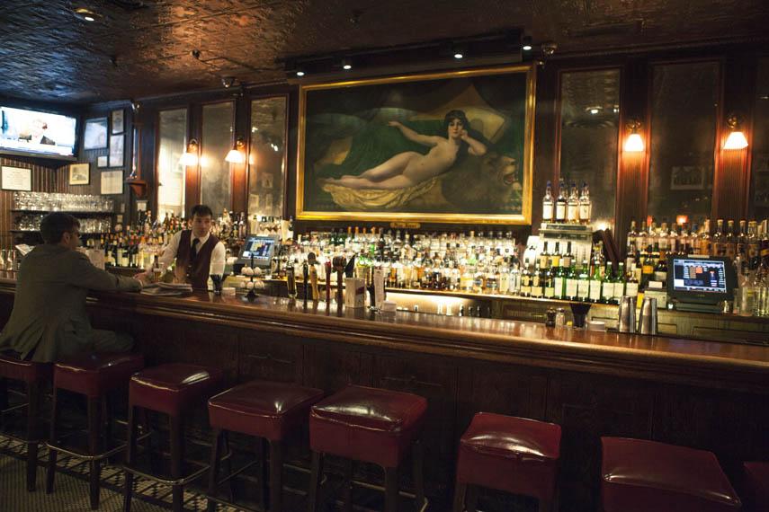 Keens Steakhouse Manhattan Sideways